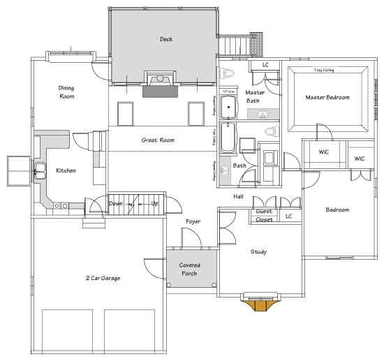 Tracey Floor Plan